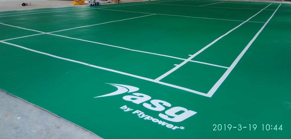 Jual Karpet Lantai Vinyl Lapangan Badminton