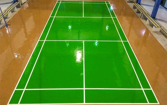 Cat Lapangan Badminton / Bulu Tangkis √ Harga Termurah