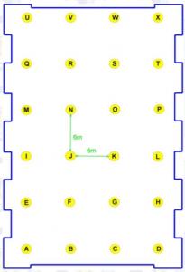 Desain Lampu Lapangan Badminton Indoor