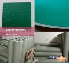 Biaya Pembuatan Lapangan Badminton Jenis Karpet Vinyl  Merk Benow