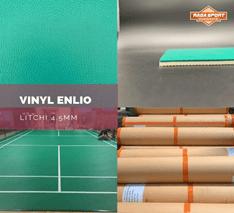 Biaya Pembuatan Lapangan Badminton Jenis Karpet Vinyl Merk Enlio