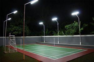 Lampu Lapangan Badminton Outdoor Indoor √ Harga Termurah