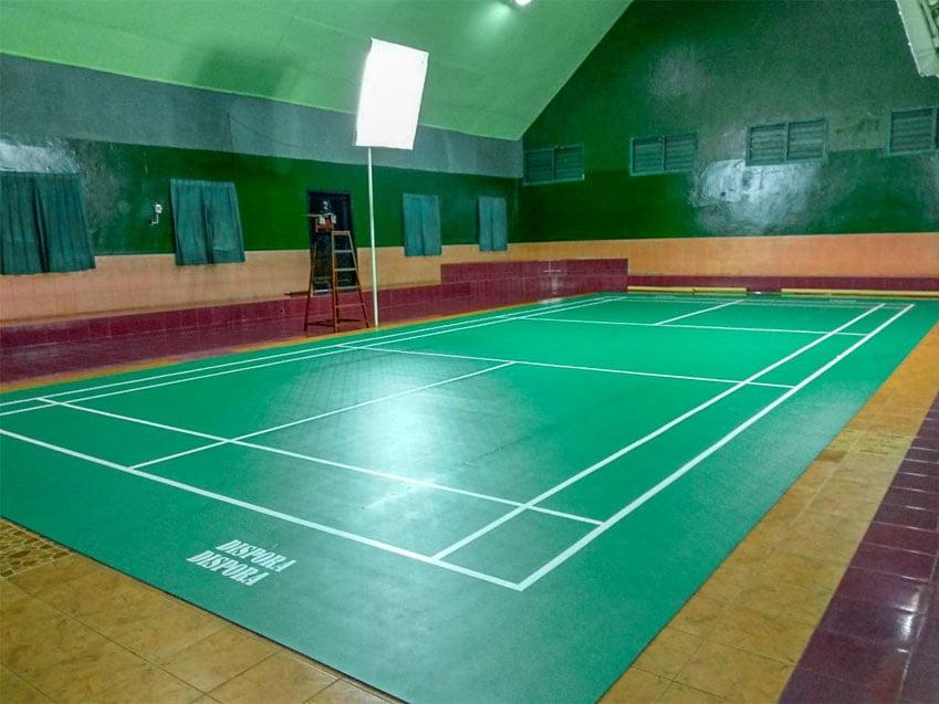 Jasa Pembuatan Lapangan Badminton / Bulu Tangkis
