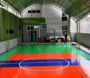 interlock lapangan basket indoor