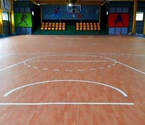 kontraktor lapangan basket