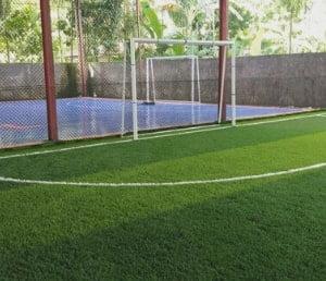 gawang lapangan futsal permanen