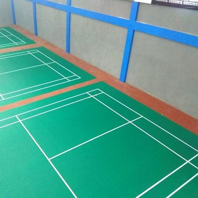 jual karpet vinyl lapangan badminton di semarang