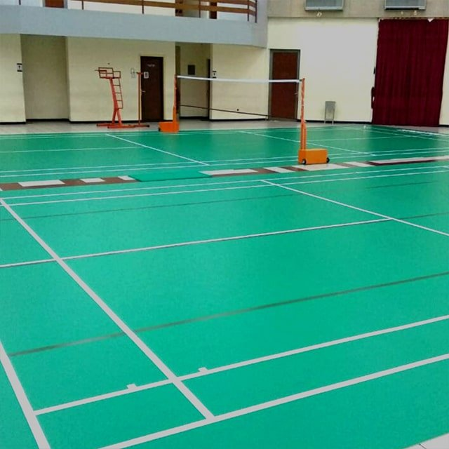 jual karpet vinyl lapangan badminton di surabaya 1-min