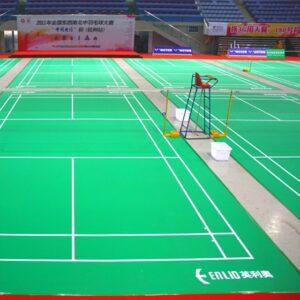 jual karpet vinyl lapangan badminton enlio