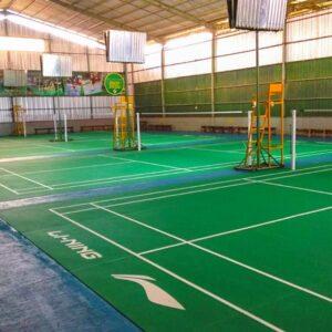 jual karpet vinyl lapangan badminton lining