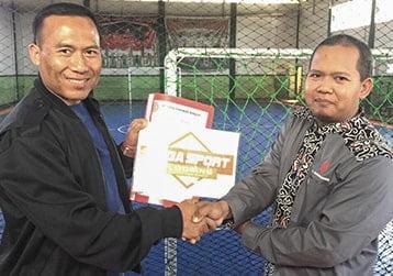 jasa pembuatan lapangan futsal Proyek Bandung