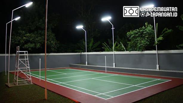 lampu lapangan badminton