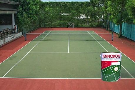 lapangan tenis flexi pave