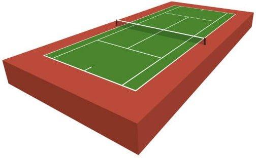 kontraktor lapangan tenis