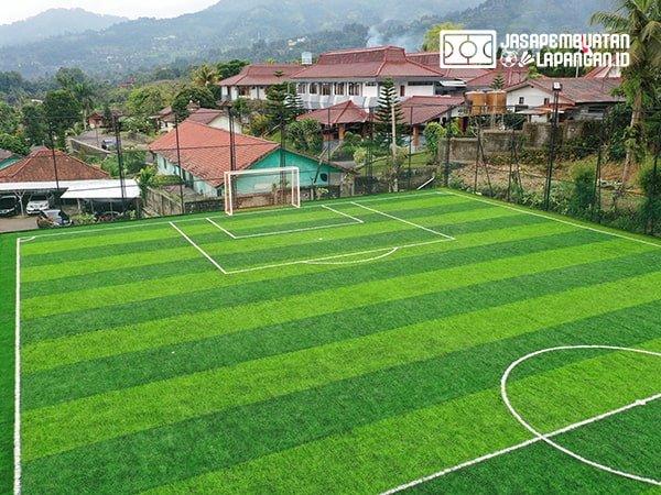 pembuatan lapangan mini soccer