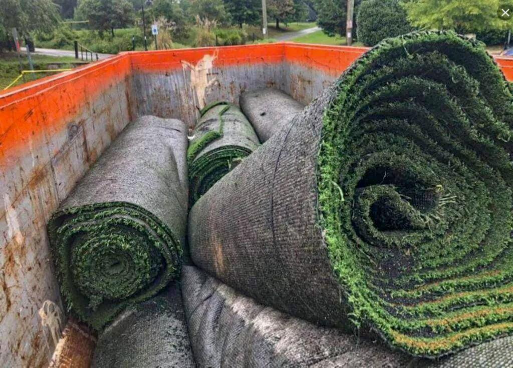 karpet rumput sintetis lapangan soccer mini
